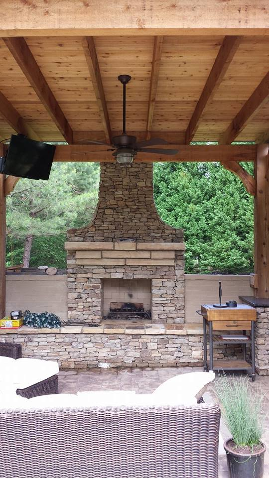 Outdoor Fireplaces And Fire Pits Davidson Hardscapes